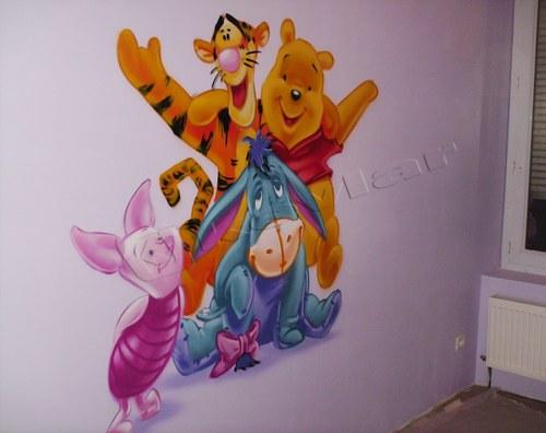 photo déco murale winnie l'ourson