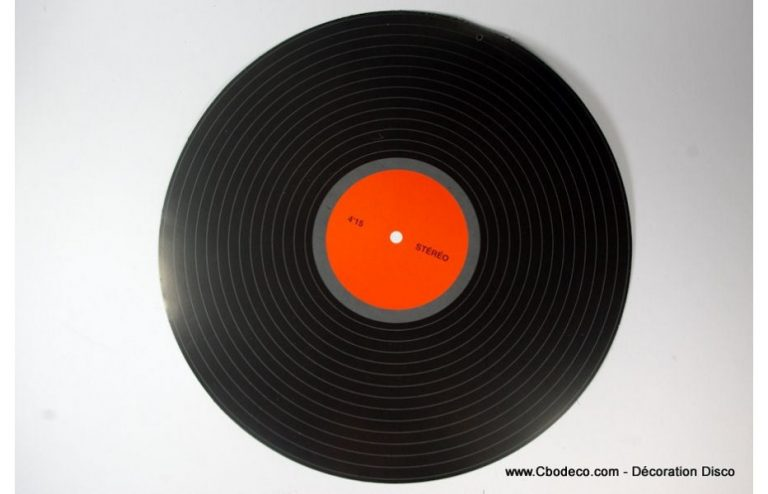 d coration murale disque vinyle. Black Bedroom Furniture Sets. Home Design Ideas