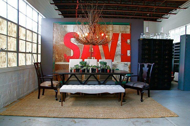 belle d coration murale industrielle. Black Bedroom Furniture Sets. Home Design Ideas