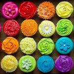 Deco sticker cupcakes