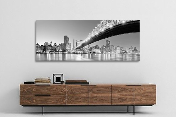 D co murale new york couleur 2 for Decoration murale geante new york