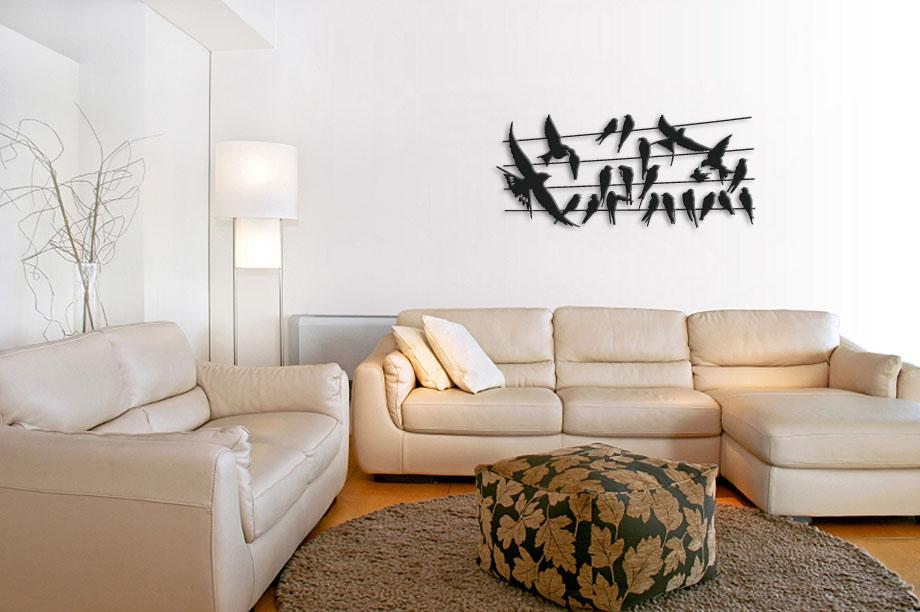 d co murale originale metal tendance. Black Bedroom Furniture Sets. Home Design Ideas