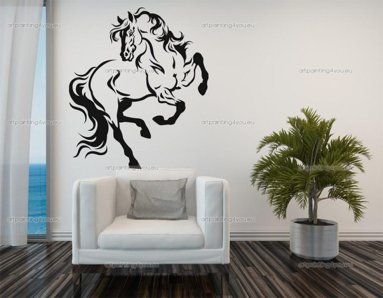 photo stickers muraux cheval