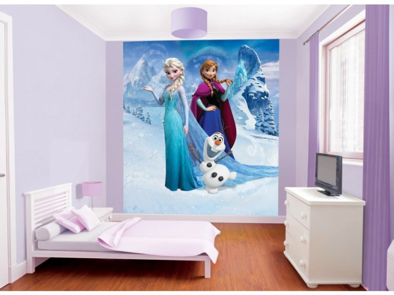 photo stickers muraux la reine des neiges