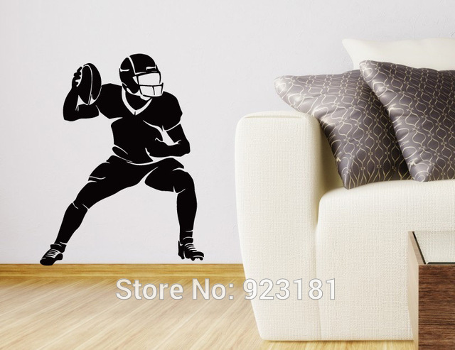 photo stickers muraux rugby