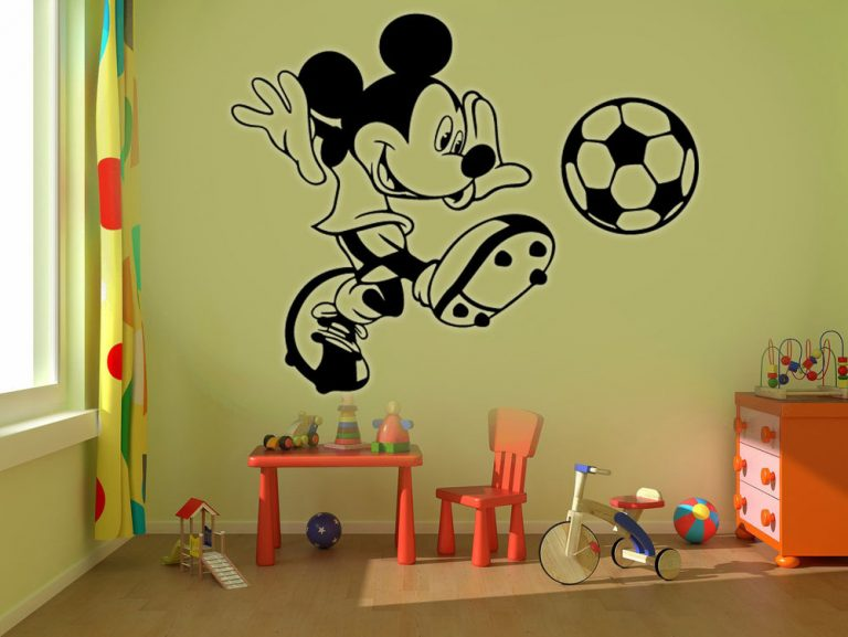 photo stickers muraux walt disney