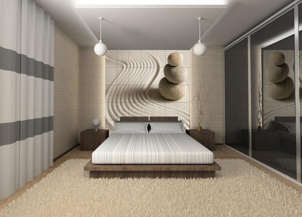 exemple déco murale chambre