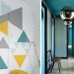 Idee deco stickers couloir