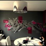 Décoration murale design pour salon