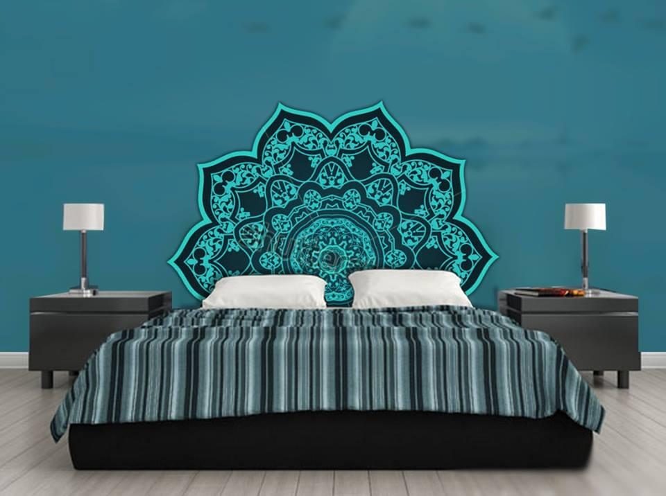 d coration murale orientale. Black Bedroom Furniture Sets. Home Design Ideas