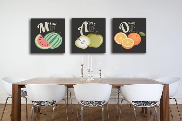 photo déco murale design cuisine