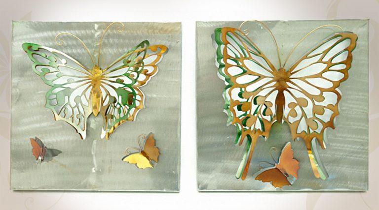 photo déco murale papillon