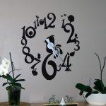 Stickers muraux horloge