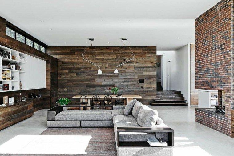d coration murale brique. Black Bedroom Furniture Sets. Home Design Ideas
