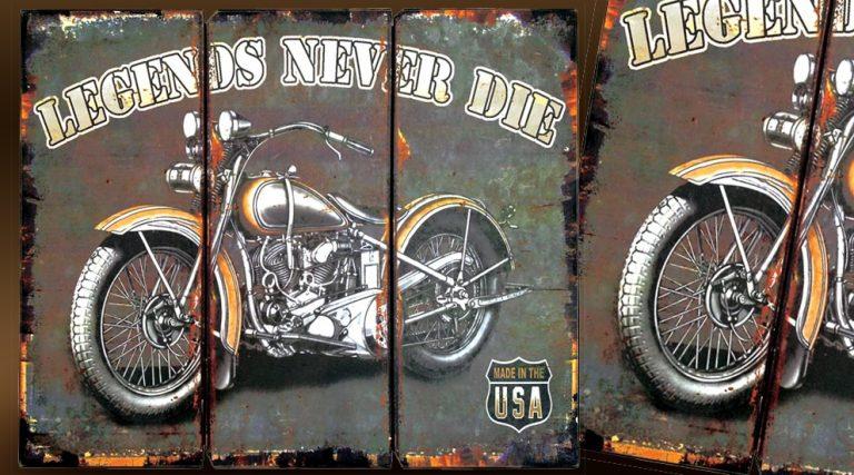 photo décoration murale vintage
