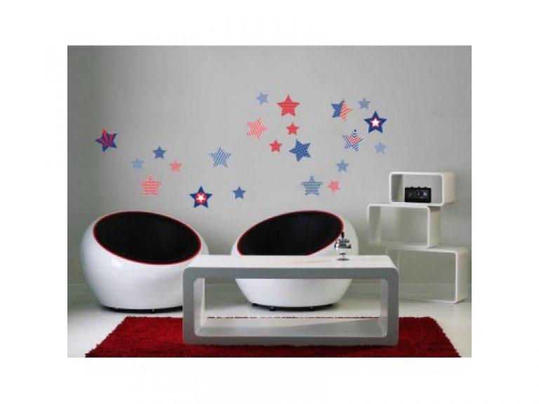 photo décoration murale étoile
