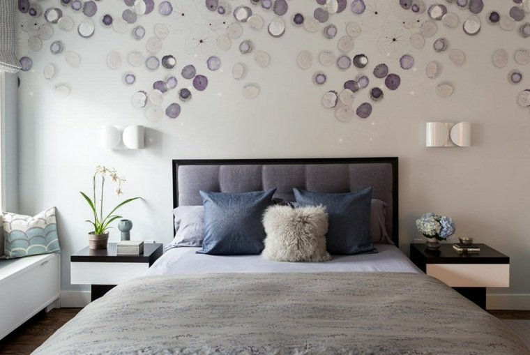 Chambre a coucher d coration murale for Decoration murale chambre a coucher