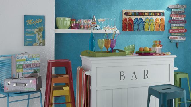 id e d co murale maison du monde. Black Bedroom Furniture Sets. Home Design Ideas