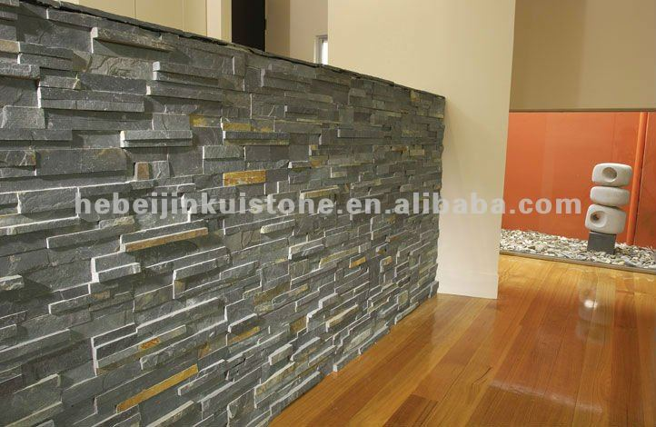 d coration murale interieur en pierre. Black Bedroom Furniture Sets. Home Design Ideas