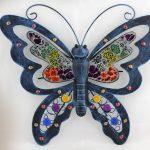 Décoration murale papillon