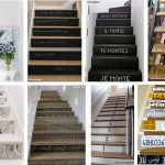 Sticker deco escalier