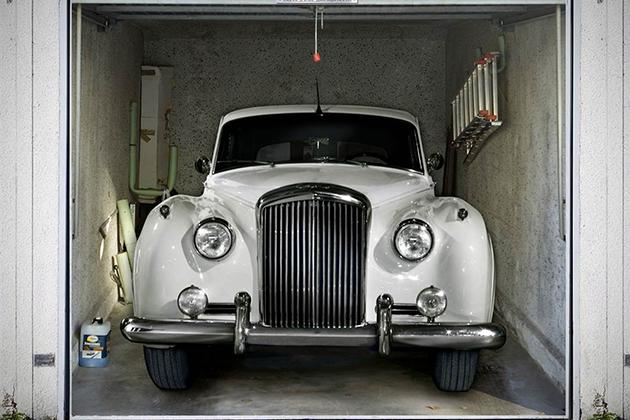 photo sticker deco garage