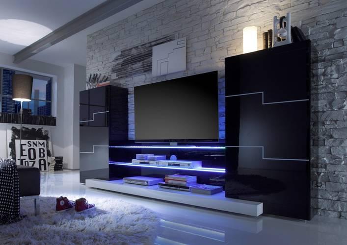belle d coration murale tv. Black Bedroom Furniture Sets. Home Design Ideas