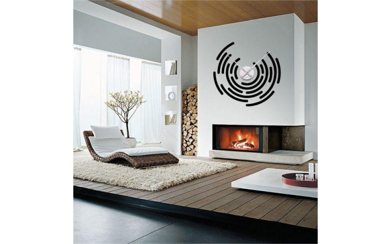 photo stickers muraux horloge geante