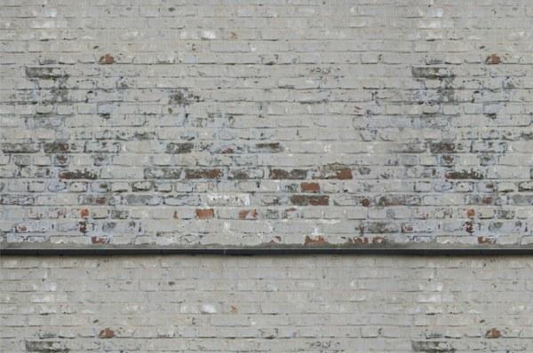 photo stickers muraux imitation brique
