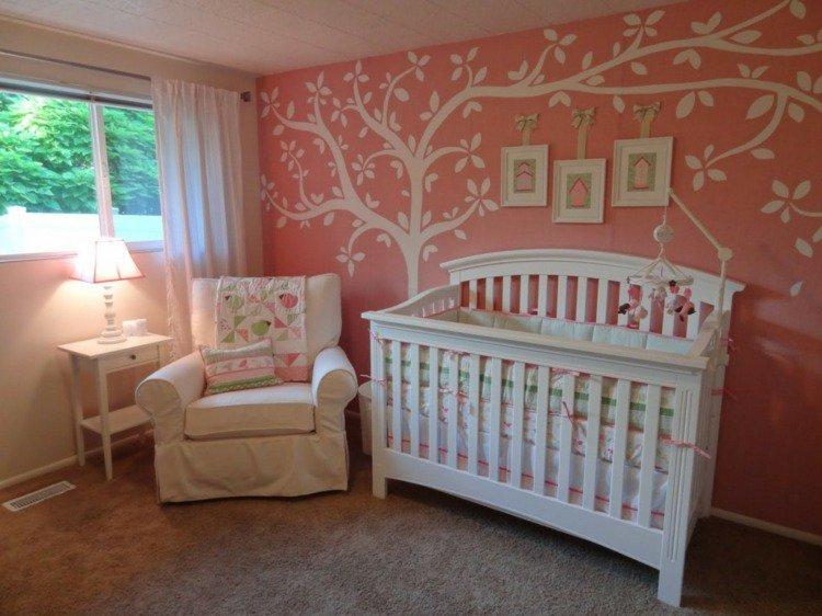 photo déco stickers chambre bébé
