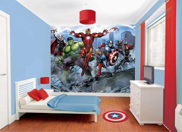 photo stickers muraux avengers