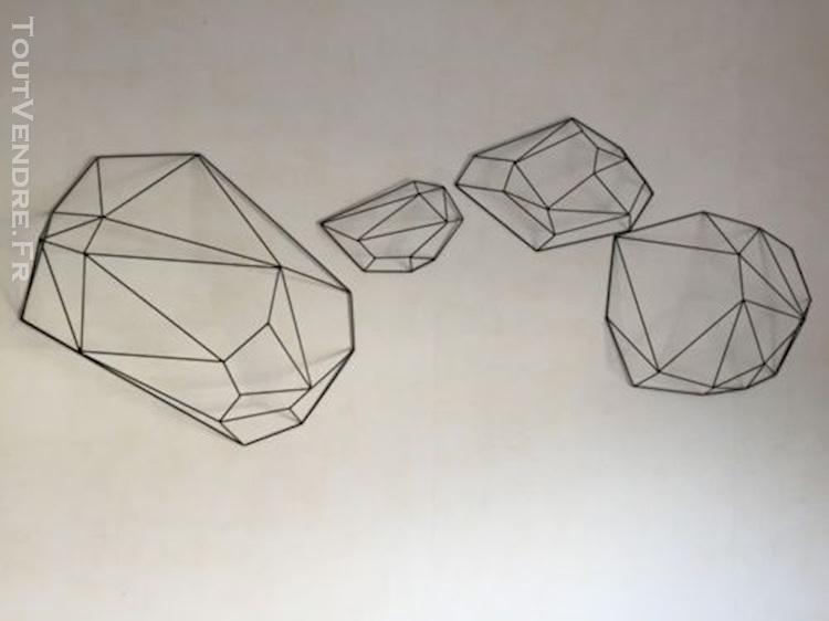 d coration murale origami. Black Bedroom Furniture Sets. Home Design Ideas