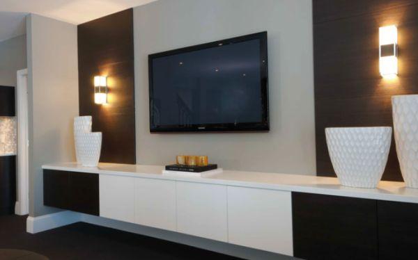 d coration murale tv 2. Black Bedroom Furniture Sets. Home Design Ideas
