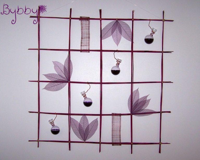photo décoration murale végétale