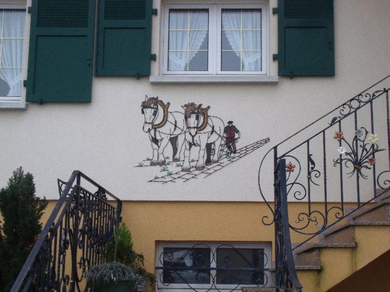 Deco Murale Fer Forge Exterieure
