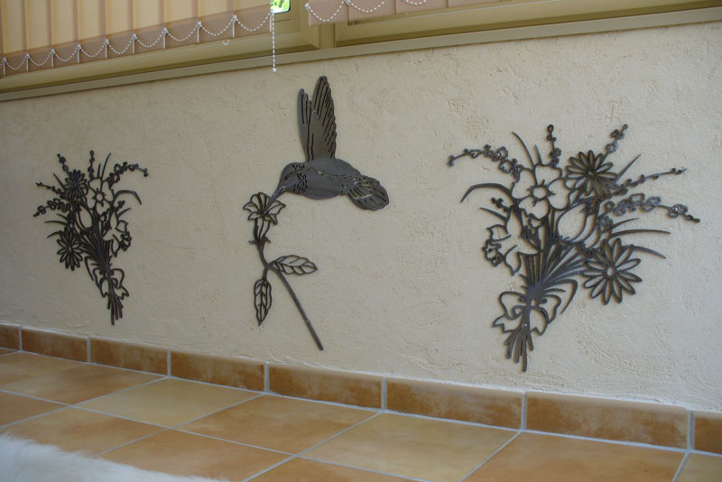 id e d co murale fer forge exterieure. Black Bedroom Furniture Sets. Home Design Ideas