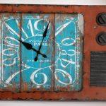 Déco murale horloge