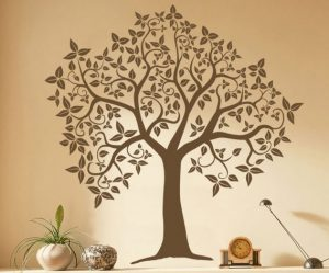Décoration murale arbre