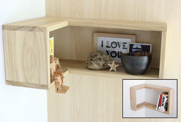 d coration murale d 39 angle. Black Bedroom Furniture Sets. Home Design Ideas