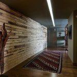 Décoration murale en bois