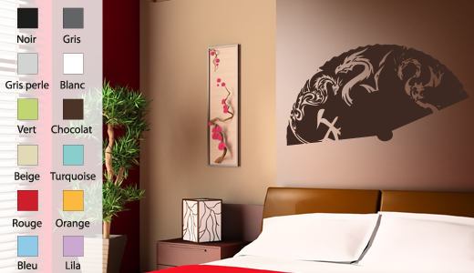 Idee Eventail Decoration Murale