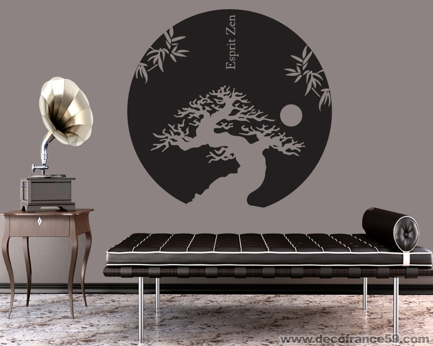 stickers muraux japonais. Black Bedroom Furniture Sets. Home Design Ideas