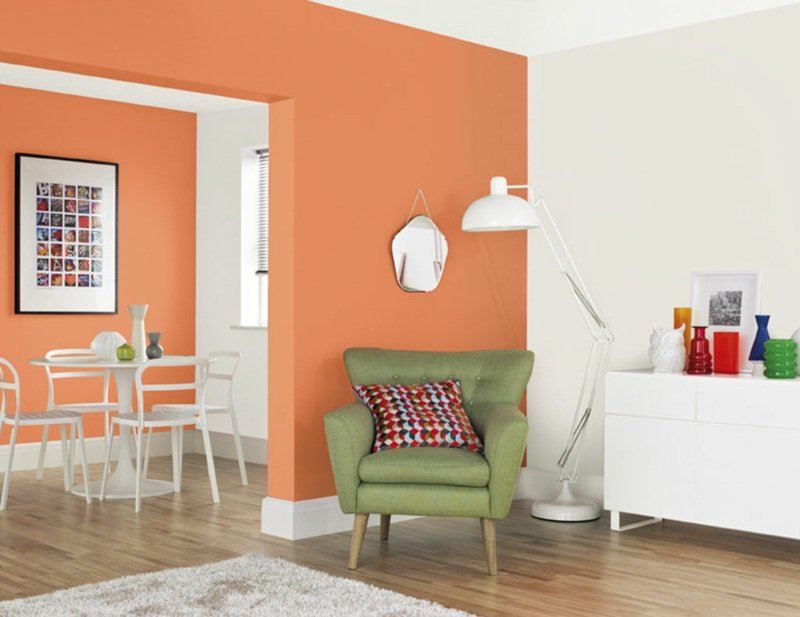 Photo d coration murale orange 3 for Decoration murale photo