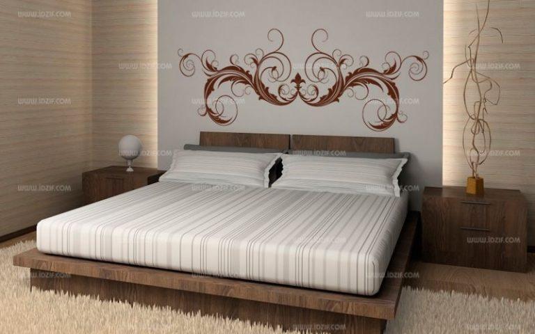 photo sticker deco tete de lit