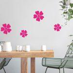 Stickers muraux fleurs