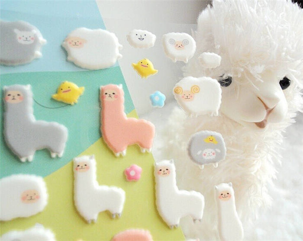 photo stickers muraux kawaii