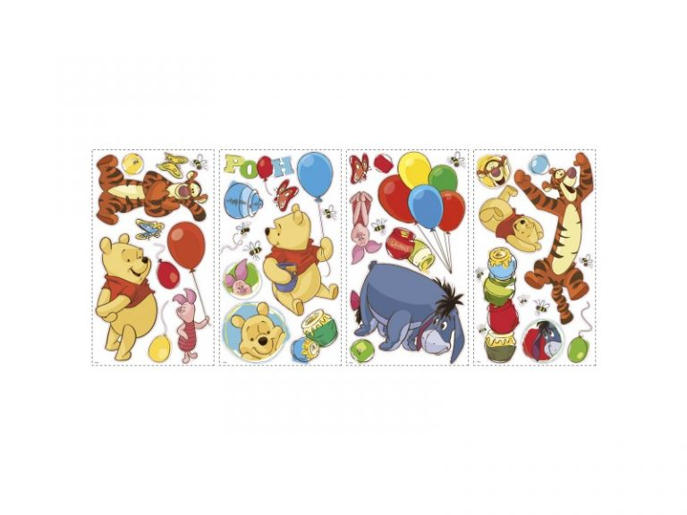photo stickers muraux winnie