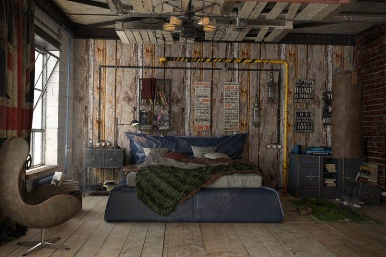 photo déco murale loft
