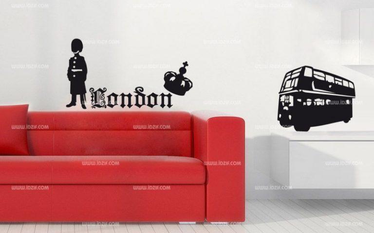 photo stickers muraux london