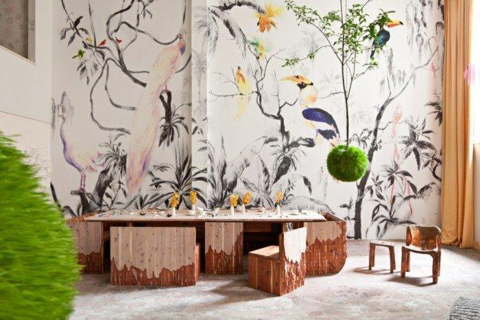 d coration murale geante pas cher. Black Bedroom Furniture Sets. Home Design Ideas